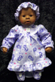 "Chou Chou Doll Clothing to fit Zapf Creation® 19"" CHOU CHOU doll."