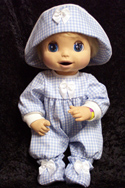 "Shop for 16"" Baby Alive doll clothes at AdorableDollClothes.com"
