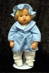 Lee Middleton doll bathrobe