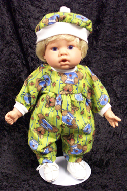 "Mischievous Cat Jumper fits 12"" - 14"" dolls such as the Lee Middleton Newborn Wonder Doll"