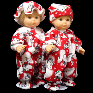 a0580fbb3 Adorable Red SnowFlake Pajamas for 14